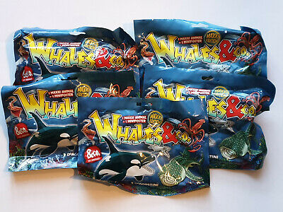 DeAgostini Whales & Co. Maxxi Edition 5 x Booster  Neu,OVP