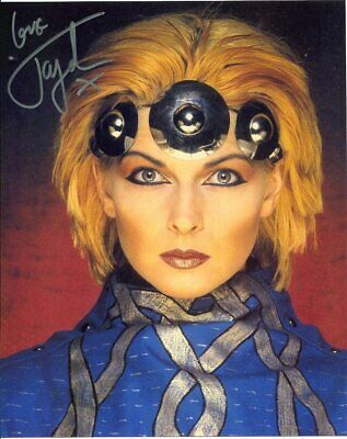 Toyah Photo Signed In Person Singer//Actress F277