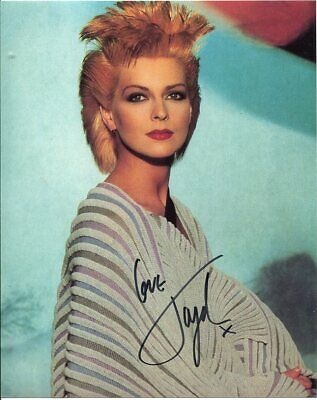 Toyah Photo Signed In Person Singer//Actress F282