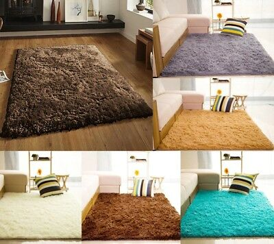 Large And Small Super Cozy Fluffy Rug Shaggy Soft Fur Carpet Floor Mat Non-slip
