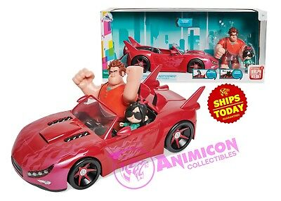 Disney Store FEATURE SLAUGHTER RACE VEHICLE SET Ralph Breaks Internet 2018