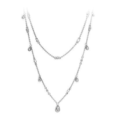 b388f0b7f PANDORA CHANDELIER DROPLETS Necklace In Sterling Silver 397084CZ45 ...