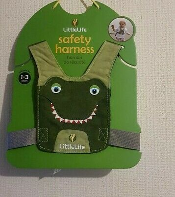 LittleLife Crocodile Toddler Harness for age 1- 3 Will Be sent 1st class sign 4