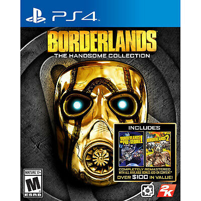 Borderlands: The Handsome Collection PS4 [Factory Refurbished]