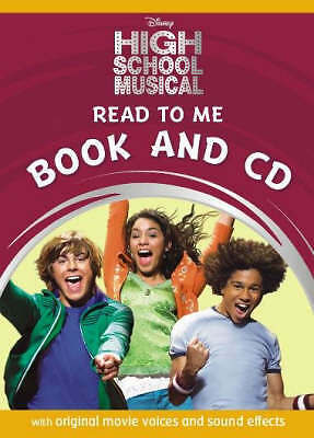 HIGH SCHOOL MUSICAL READ TO ME BOOK & CD Disney NEW SEALED Original Voices Sound
