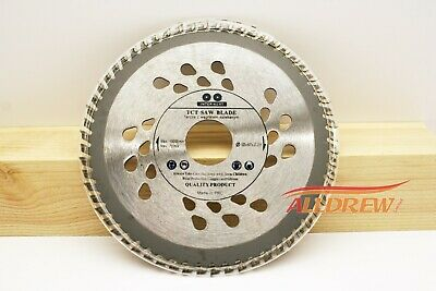 ( Set of 2 ) 125mm x 40 & 60 TCT Saw Blade for WOOD and PLASTIC 5'' Circular Saw