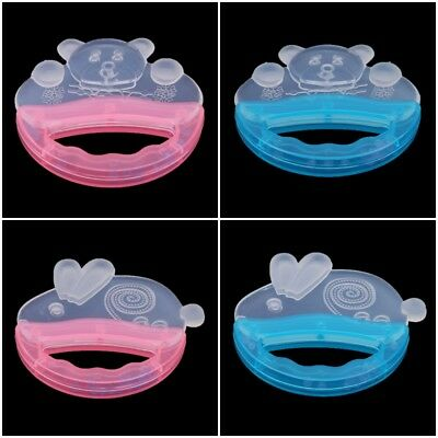 Safety Silicone Baby Infant Teether Toys Lovely Bear Rabbit Teething Chew Toys