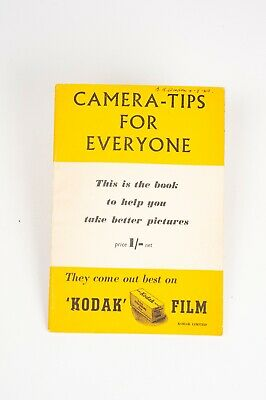 Camera-Tips for Everyone- A Fountain Press Publication