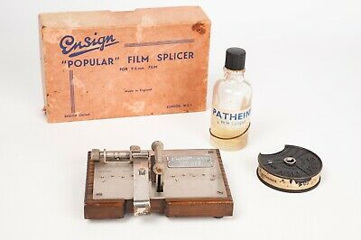 "Ensign ""Popular "" film Splicer for 9,5 mm film / Empalmadora"