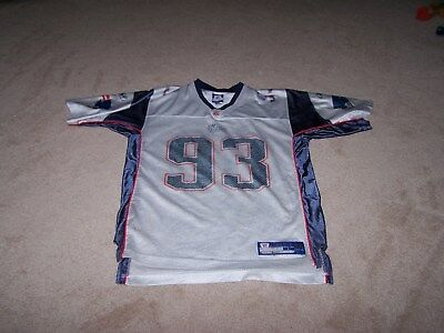 Reebok New England Patriots  93 Richard Seymour Men s NFL Jersey size Large f01966632