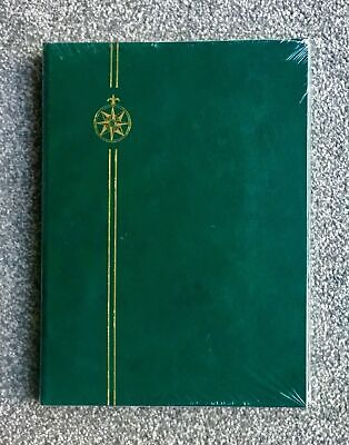 Green Stamp Stockbook | Stamp Album | Stamp Book | Stock Book | White Pages