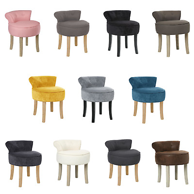 Stool With A Backrest Vanity Tub Chair Dressing Table Stool Rest Seat Bedroom