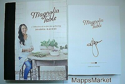 ***SIGNED*** Magnolia Table by JOANNA GAINES 1st Edition Hardcover ~ AUTOGRAPHED