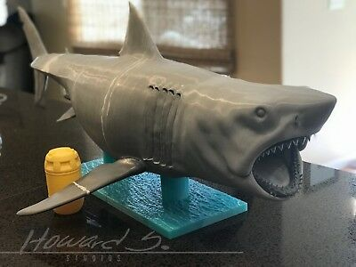 *1:6 Jaws Bruce Shark Statue/ Rare Resin Model Kit/ Speilberg/ Massive Scale *