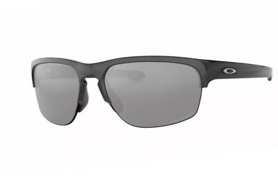 b10ff6ebc5b NEW OAKLEY SLIVER Edge sunglasses Steel Prizm Sapphire Polarized ...