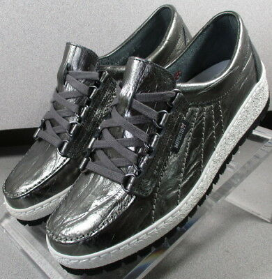 74b934f051f LADY PEWTER LMSP70 Women's Shoes Size 7.5 M Eur 5 Leather Lace Up Mephisto