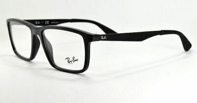 6daa4712930e RAY-BAN EYEGLASSES RB RX 7056 2000 Shiny Black Frame 55 mm -  66.99 ...