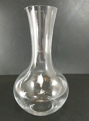 Riedel Crystal Red Wine Syrah Open Decanter 1430/13 Germany 49 3/8 ounce 9 3/4""