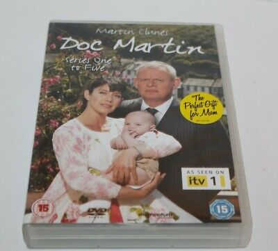 Doc Martin Complete Series One To Five DVD 1,2,3,4 & 5
