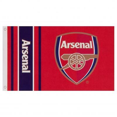 ARSENAL FC 3ft x 5ft TEAM CREST FLAG/BANNER OFFICIALLY LICENSED FREE SHIP USA