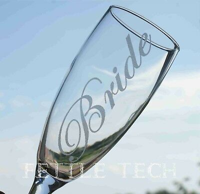 a8548018c23 Etched/Frosted Decal/Sticker for Wedding Champagne Flute/Glass DIY Bridal  Party