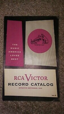 Vintage 1953 RCA Victor Popular Music Record Catalog Catalogue - 192 pages!