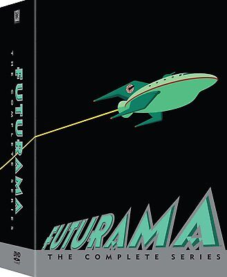 *NEW* FUTURAMA The Complete Series Collection 23-Disc DVD Set Seasons 1-8