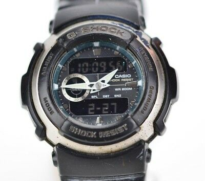 sports shoes 06d35 7ee66 VINTAGE MENS CASIO G-Shock 200M Watch G-300-3750 Running JDM Japan A035/3.3