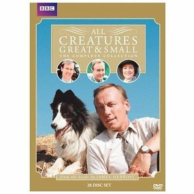 All Creatures Great & Small Complete Collection (DVD, 2010, 28-Disc Set) ACCEPTA