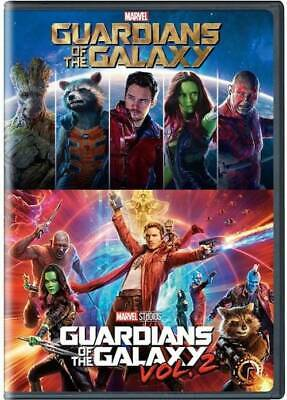 Guardians of the Galaxy Vol. 1 & 2 : 2-Movie Collection DVD Set Free Shipping