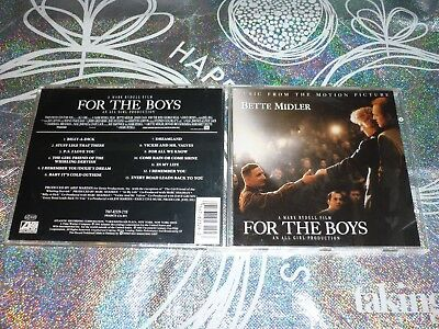 Music From The Motion Picture- For The Boys (Cd, 13 Tracks, 1991) (133474 A)