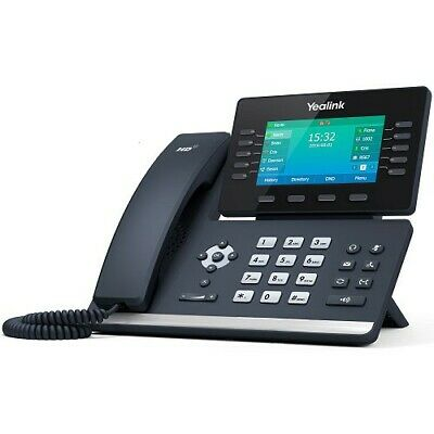 "Yealink T54S, 16 Line IP HD Phone, 4.3"" 480 x 272 colour screen, HD voice, GbE"