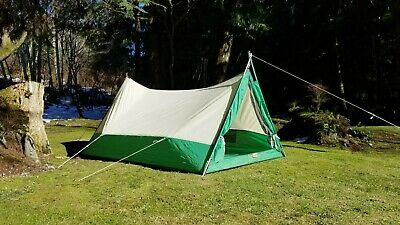 AMERICAN CAMPER VINTAGE 5X7 2 Person Trail Tent - $9 10
