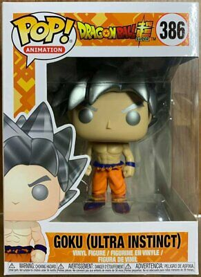 Funko Pop Animation Dragon Ball Super # 386 GOKU (Ultra Instinct) Vinyl Figure