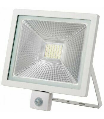 - Projecteur LED avec détecteur - 50W - IP65 - WAVE - Ecolife Lighting®