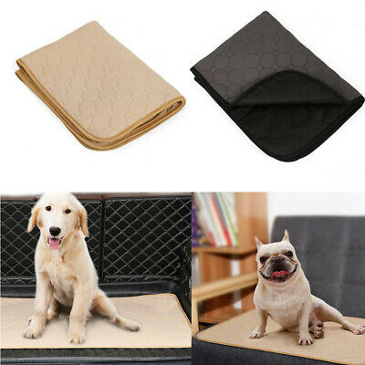 2Colors Washable Dog Pee Pads Antibacterial Training Puppy Pads for Dogs Puppy