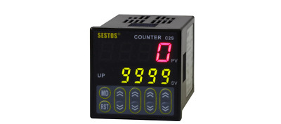 NEW 4 DIGITAL Preset Scale Counter Digital Counter 100-240V