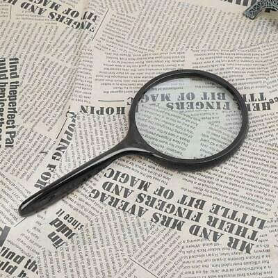 Large Handheld Magnifier Reading Map Newspaper Magnifying Glass Loupe 80mm/105mm
