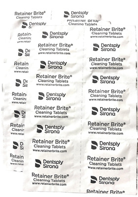 Dental Oral Retainer Brite Cleaning Braces NightGuards ~ 32 / 64 / 96 Tablets