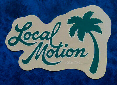 LOCAL MOTION  Hawaii .. Original Vintage  1990,s  Surfing sticker
