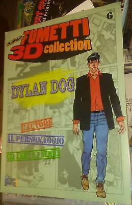 Dylan Dog Fascicolo Fumetti 3D Collection N.6 Hobby Work