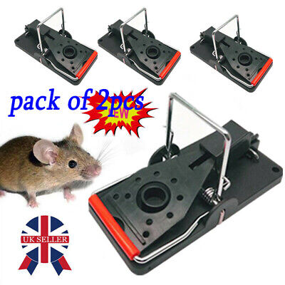 Spring Mouse Rat Trap Rodent Pest Easy Control Bait Traps Catcher Killer Cheese