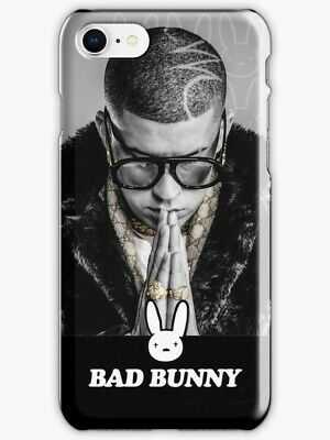 new style 7f9ac 159cf BAD BUNNY IPHONE Case, Bad Bunny Fan Art & Merch iPhone X 6 7 8 S Plus Cover