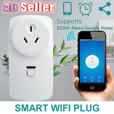 Wireless Wifi ALEXA Switch Smart Power For Plug ECHO GOOGLE Outlet Socket AU