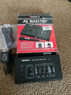 Cameras & Photo Ambico Av Maestro V0629 Video Enhancer Stereo Audio Mixer Reasonable Price