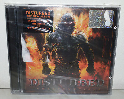 Cd Disturbed - Inside The Fire - Nuovo New