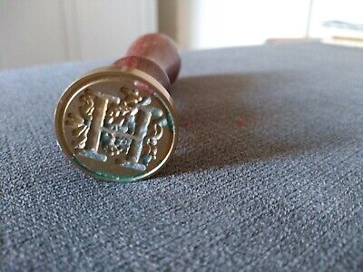 Classic Initial Letter 'H' Hogwarts Wax Seal Stamp  Alphabet Sealing Envelope