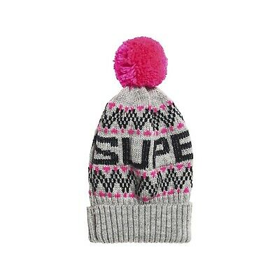 Bonnet Superdry Chevron Grey Marl