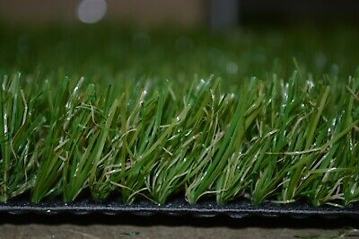 Cheap Artificial Fake Grass Clearance Roll End  Remnant 33mm Off Cuts Astro Lawn