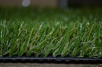 Cheap Artificial Grass Clearance Roll End  Remnant 33mm pile Off Cuts Astro Lawn